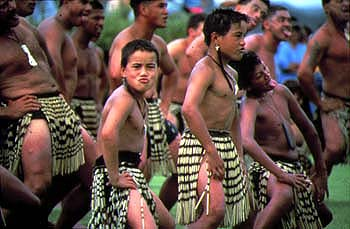 Maori haka performed New Zealand
