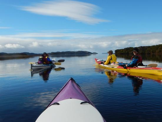 Kayaking Stewart Island New Zealand