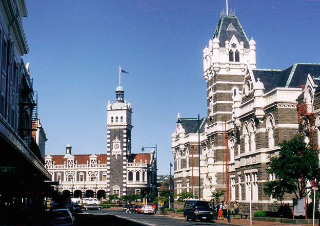 Dunedin Station and Courts New Zealand