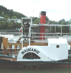 The Waimarie - An Historic Steam Paddleship