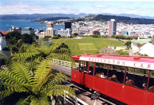 Wellington Cable Car New Zealand