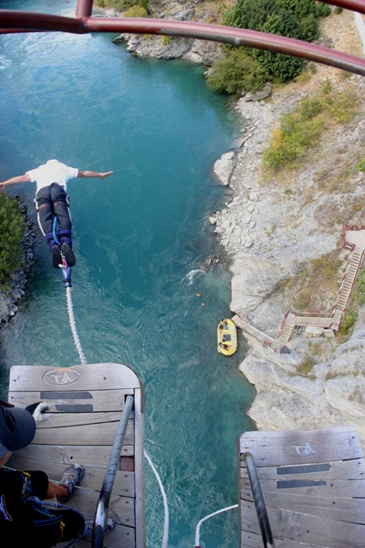 Bungee Jump at Kawarau bridge Queenstown