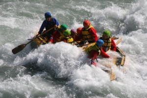 White water rafting Rangitata Valley NZ