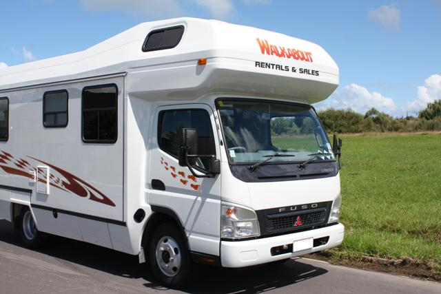 Walkabout Rentals Campervans hire New Zealand
