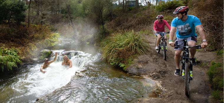 Rotorua Bike Trail New Zealand