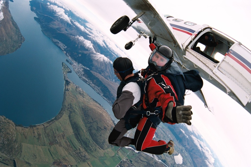 Skydiving Queenstown New Zealand