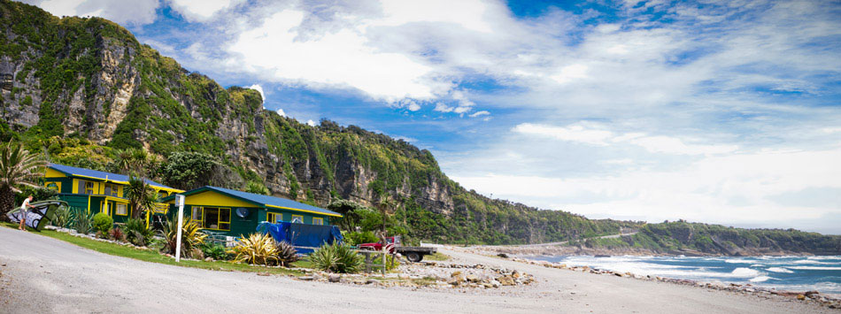 Punakaiki Beach Hostel New Zealand
